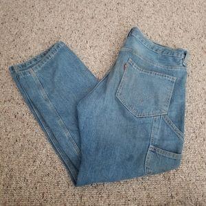 Mens Levis Carpenter Jeans Size 34